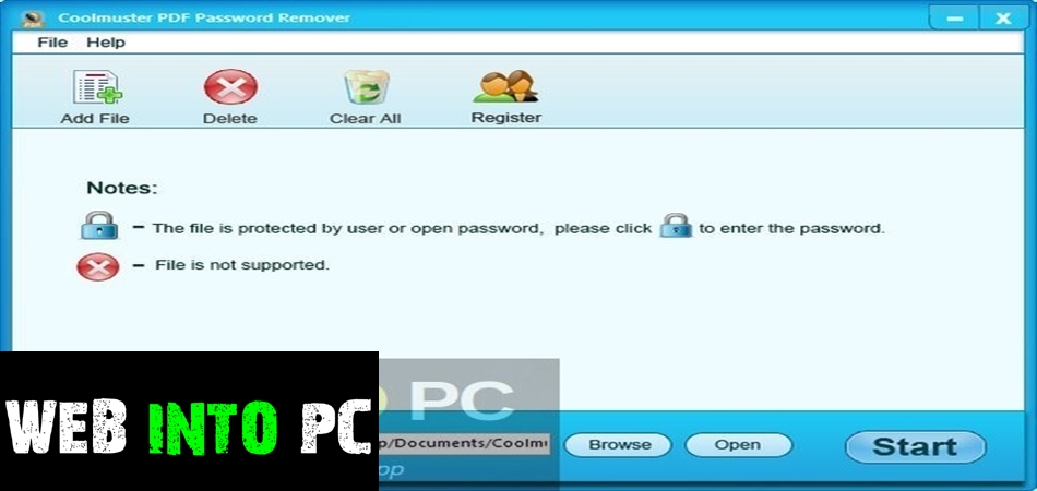 Coolmuster PDF Password Remover-getintopc
