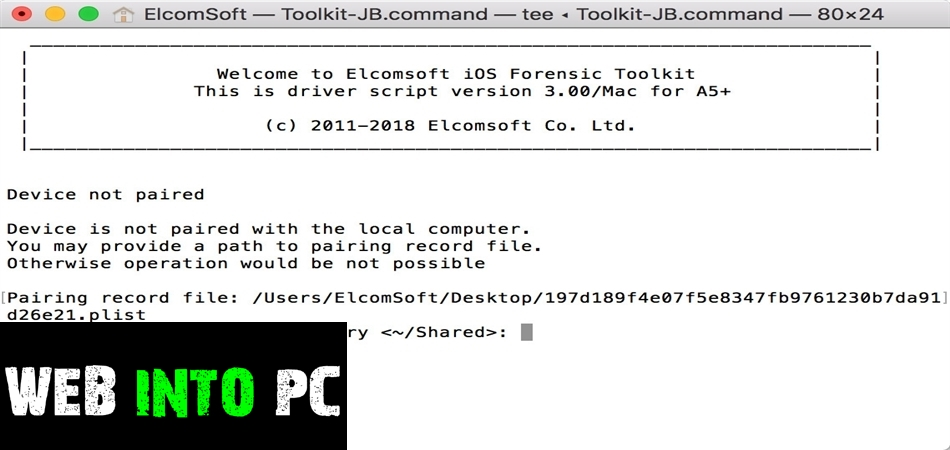 ElcomSoft iOS Forensic Toolkit-getinto pc