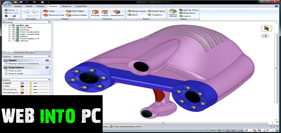 ANSYS SpaceClaim Direct Modeler 2014-getintopc website