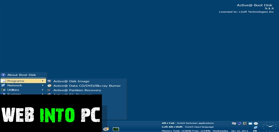 Active Boot Disk Suite-get into pc