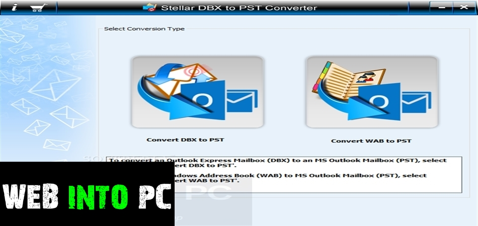 DBX to PST Converter-get into pc