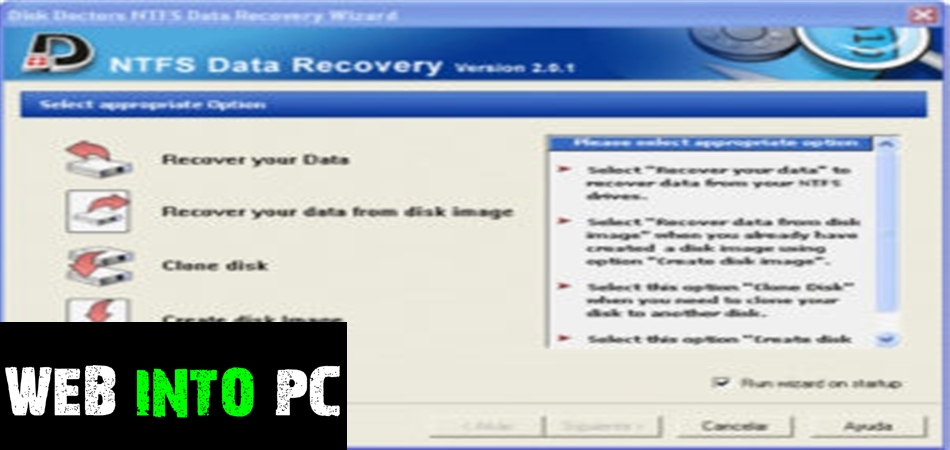 Disk Doctors NTFS Data Recovery-get intopc