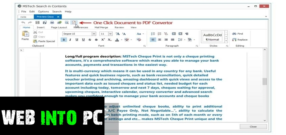 MSTech Search In Contents Pro-get into pc