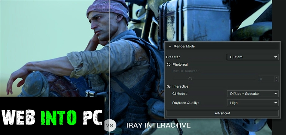 Reallusion Iray Render Plug-in for Character Creator-getintopc