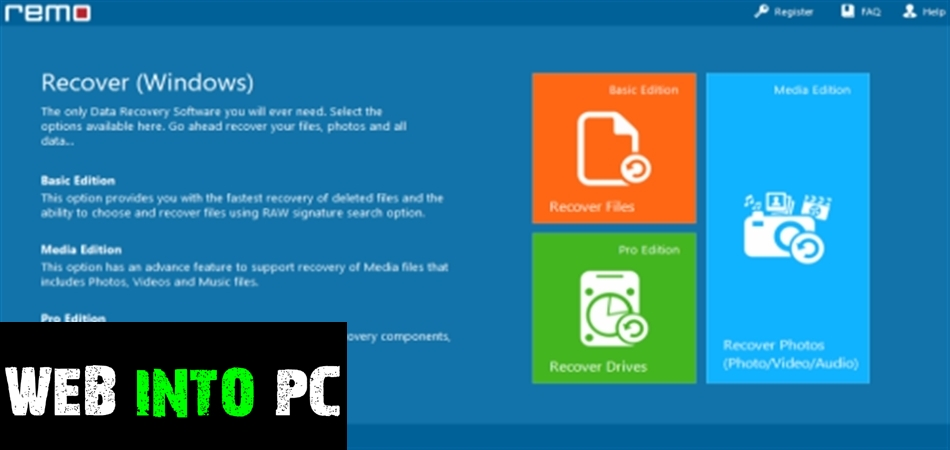 USB Flash Drive Data Recovery Portable-get into pc