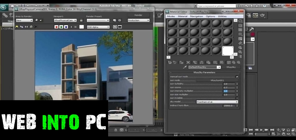 V-Ray for 3ds Max 2009 / 2010 / 2011 / 2012-getintopcs