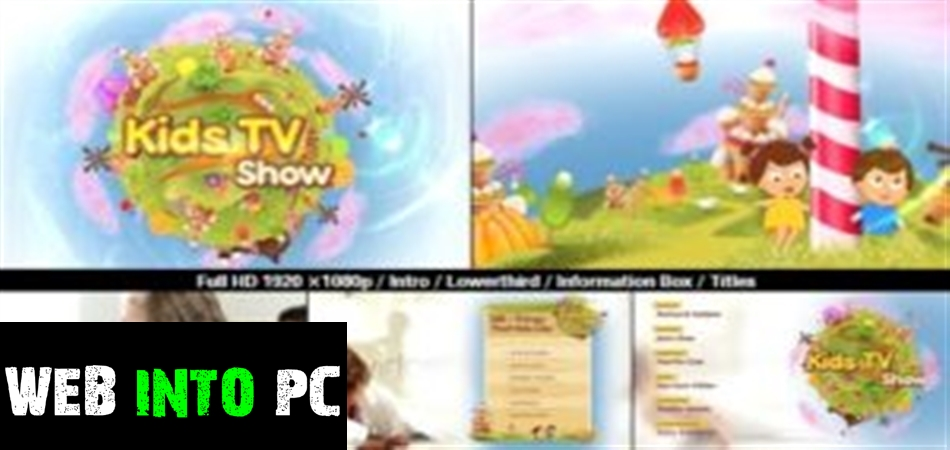 VideoHive – Kids TV Show Pack for After Effects-get into pc