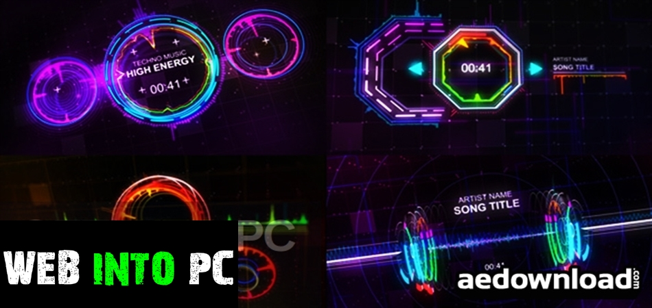VideoHive Music Visualizer Kit for After Effects-igetintopc