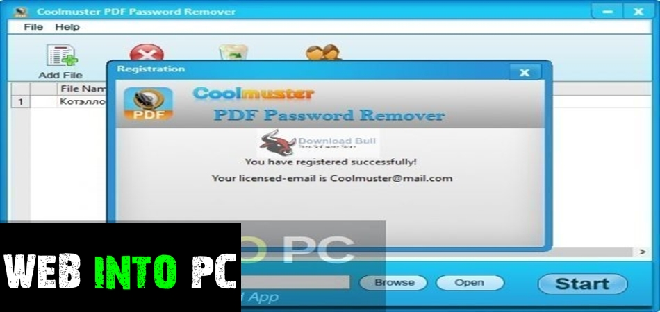 Coolmuster PDF Password Remover-get into pc