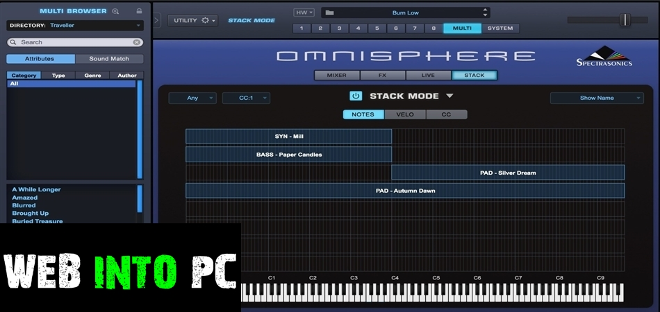 the Triple Spiral the Audio – the Empty the Fields 2 (OMNISPHERE)-web into pc