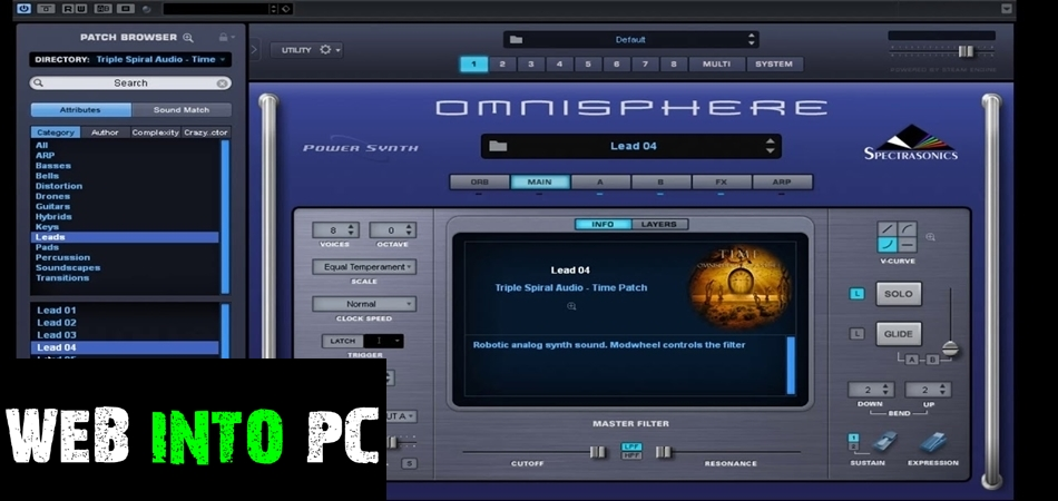 the Triple Spiral the Audio – the Ambient Pads (Omnisphere)-getinto pc
