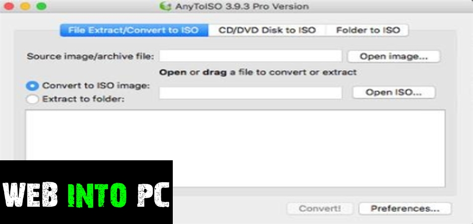AnyToISO Professional-get into pc
