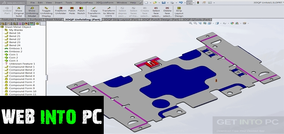 3DQuickPress 6.2.5 for SolidWorks-getintopc