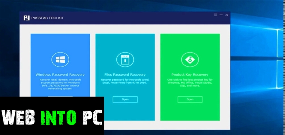 PassFab ToolKit-get into pc