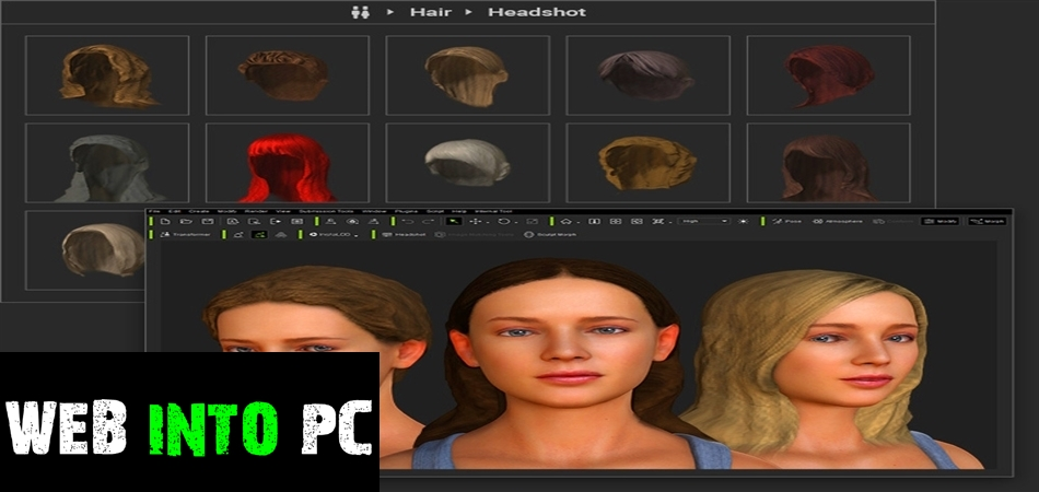 Reallusion Headshot Plug-in for Character Creator-igetintopc