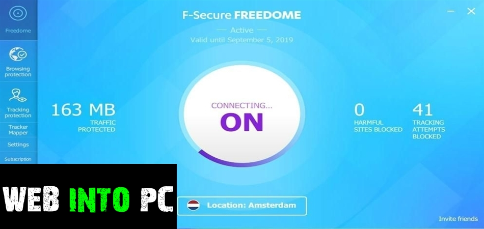 F-Securedome VPN-get into pc