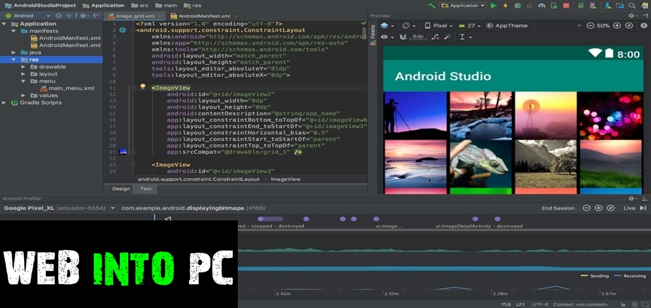 Android Studio 2019-get intopc