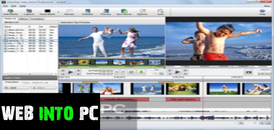 NCH VideoPad Video Editor Professional 2020-getintopc website
