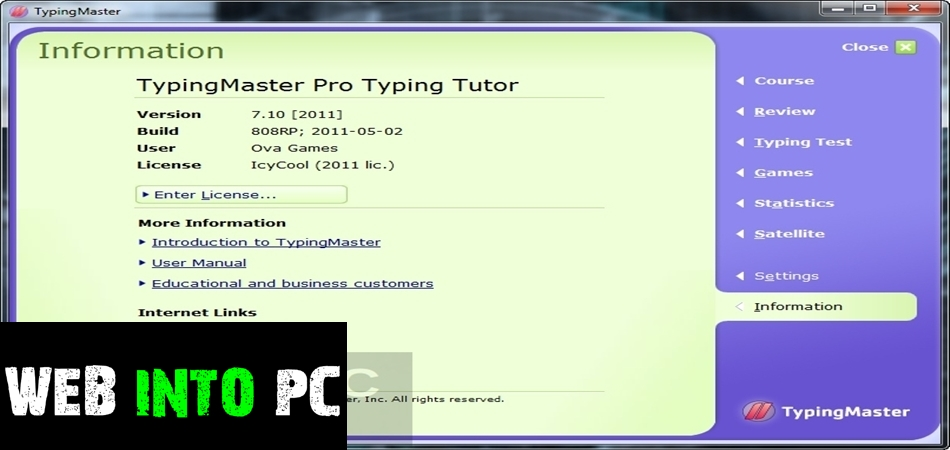Typing Master Pro v7-get into pc