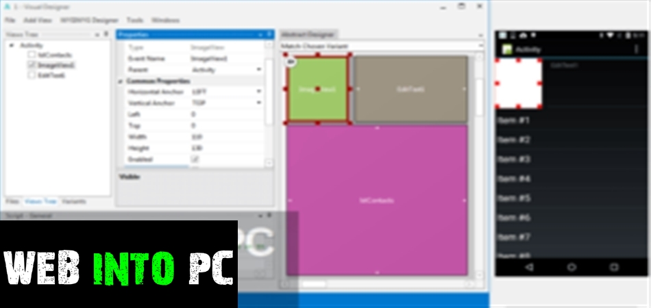 Basic4android-web into pc