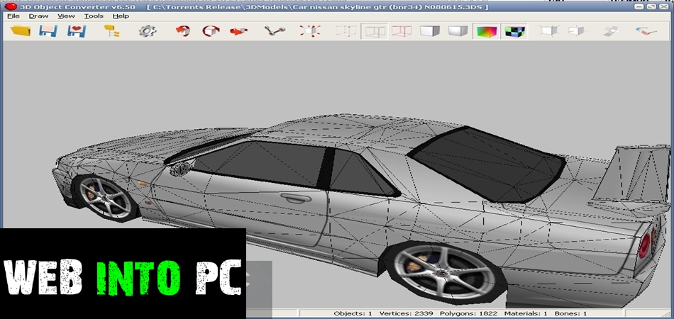 3D Object Converter-get into pc
