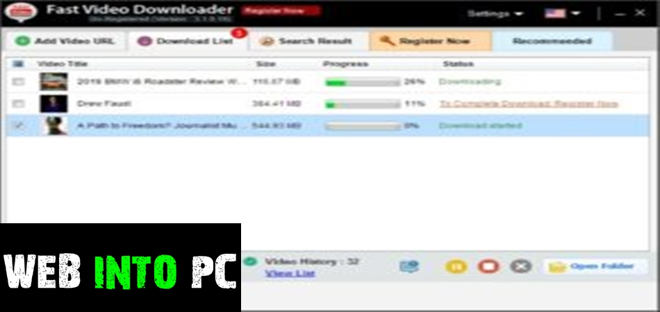 Fast Videoer-get into pc