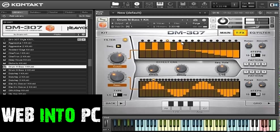 Heavyocity – DM-307A: Collection-get into pc