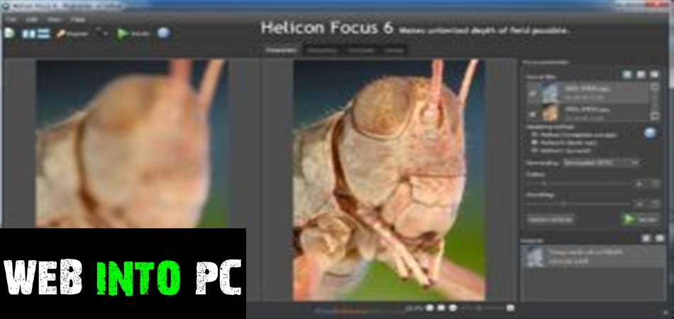Helicon Focus Pro v6.0.18 Final + Helicon Remote v3.2.7-getintopcs