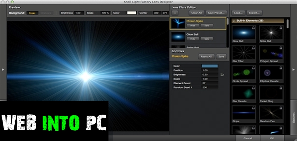 Knoll Light Factory for Photoshop-get into pc