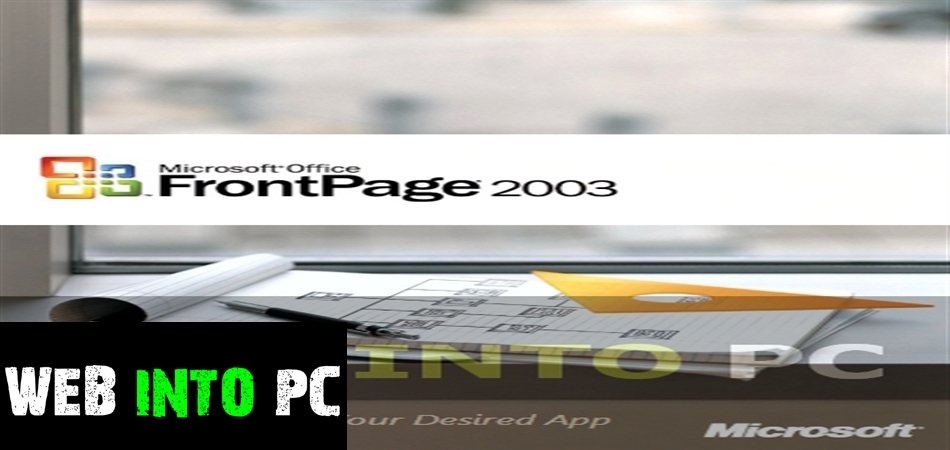 Microsoft Office FrontPage 2003-get into pc