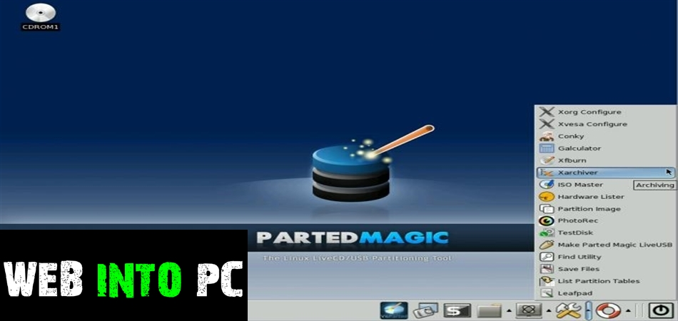 Parted Magic 2016 ISO-get into pc