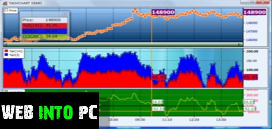 TMS Advanced Charts for Intraweb-web into pc